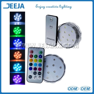 3 inch color changing led lights LD10